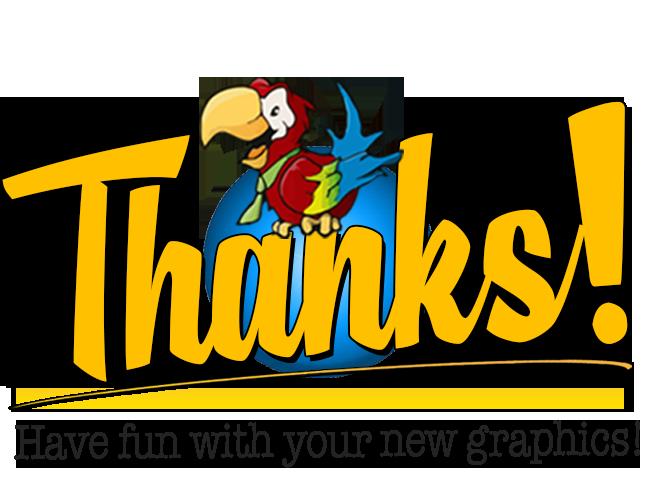 Thanks Logo