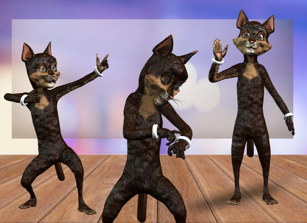 Unimation Media Thunder the Cat