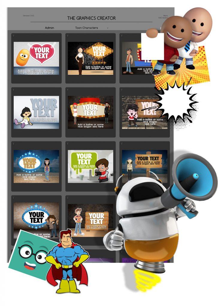 Cartoon and Comic Elements