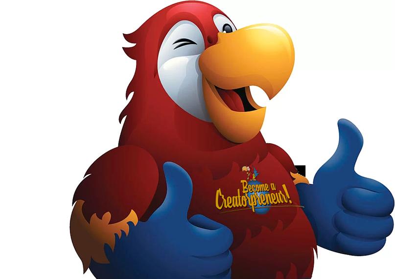 Laughingbird thumbs up