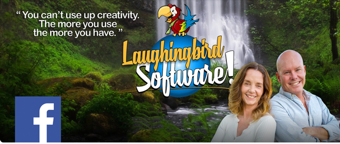 Join the Laughingbird software Facebook Group to learn how to design your own graphics