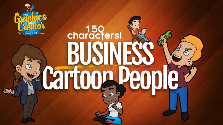 Business Cartoon People