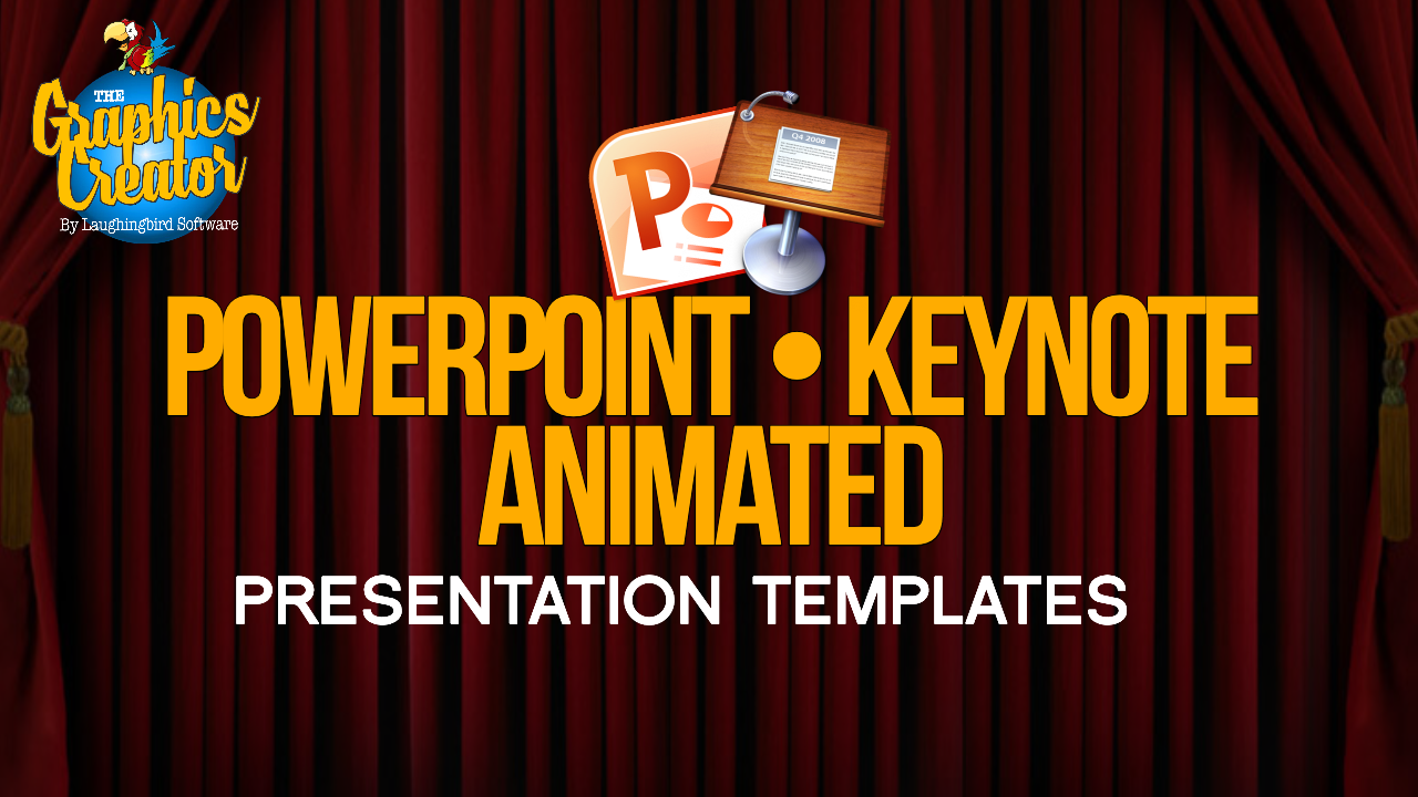 Powerpoint and Keynote Animated Templates