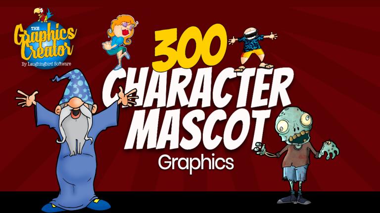 300 Mascot Character Graphics