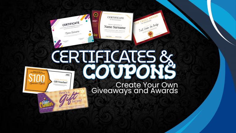 Certificates and Coupons 3