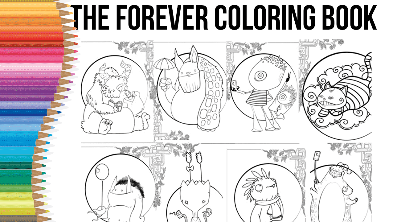The Forever ColoringBook