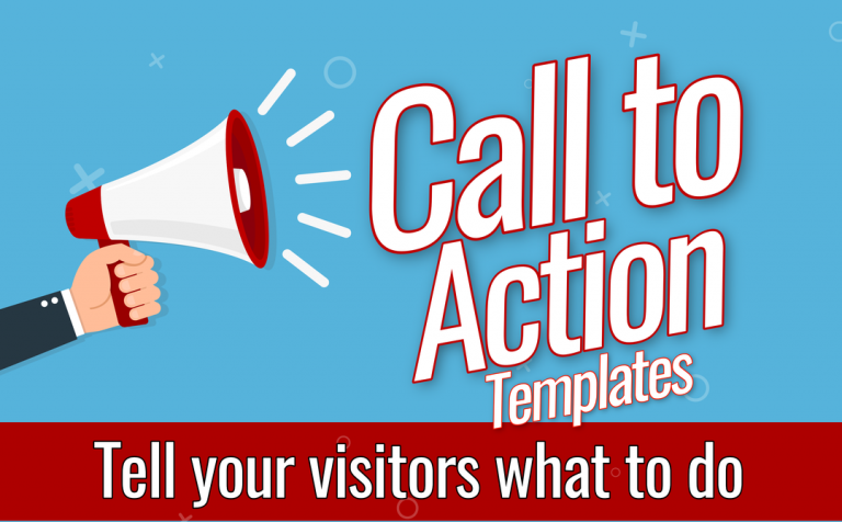 Call to Action Templates and Elements