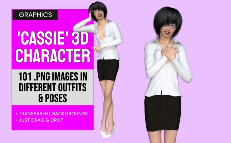 Cassie 3D Character