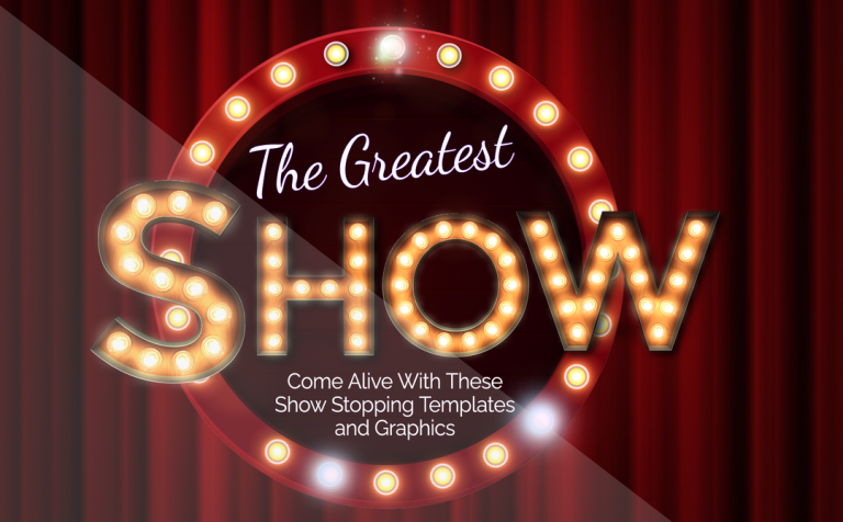 The Greatest Show Template Set