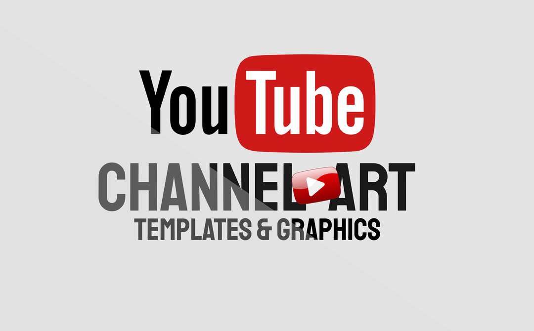 YouTube Channel Art Templates