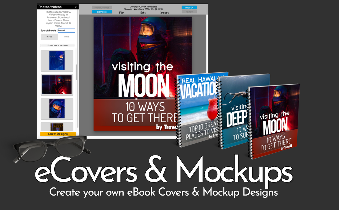 eCover and Mockups Templates